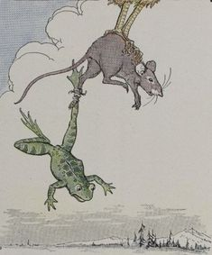 THE FROG AND THE MOUSE ~ Fables and Short Stories