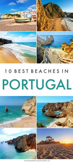 It's home to miles of truly epic beach scenery, but which are the best beaches in Portugal? Here are 10 of the most beautiful coastal spots in the country. Portugal Travel Guide, Europe Travel Guide, Budget Travel, Travel Guides, Beaches In The World, Places Around The World, Malta, Beach Scenery, Sunset Beach