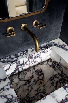 Boutique Interior Design, Bathroom Design Inspiration, Stone Kitchen, Condo Kitchen, Bathroom Goals, Plumbing Fixtures, Beautiful Bathrooms, Interiors, Powder Rooms
