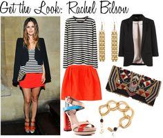 get the look: Rachel Bilson