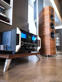 Mc Intosh, Room Acoustics, Cd Player, Best Speakers, Audio Room, Surround Sound Systems, Home Theater Design, Speaker Design, High End Audio