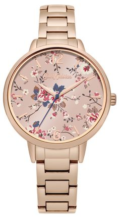 Cath Kidston Trailing Rose Gold Bracelet Watch CKL038RGM