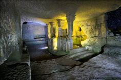 Cave Cities of Ukraine