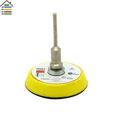 2 inch Sander Disc Sanding Buffing Polishing Pad Backer Plate 3mm Shank for Dremel Electric Grinder Rotary Tool