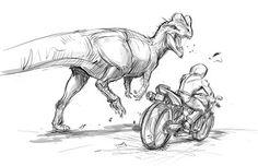 jonathan kuo artwork: sketch break