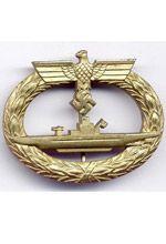 The U-Boat badge in Gold
