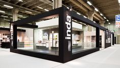 Inda - Styling stand Cersaie on Behance