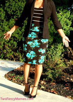 Business outfit, pencil skirt, blazer. LuLaRoe cassie skirt http://Twofancymamas.com or https://www.facebook.com/groups/2fancymamas #lularoefashion