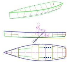 Rowing Skiff - Simple, Fast, Pretty Utility Rowboat - Michael Storer Boat Design
