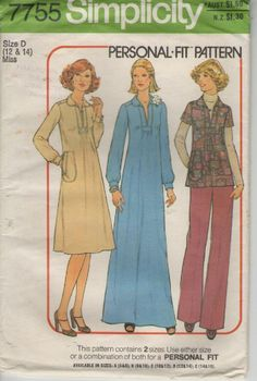 On Sale  1970s Simplicity No 7755 Sewing by jennylouvintage