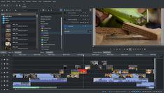 Video editor. Linux, Windows, Mac via Macports.