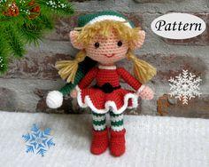 Hey, I found this really awesome Etsy listing at https://www.etsy.com/no-en/listing/451751438/pattern-christmas-xmas-elf-girl