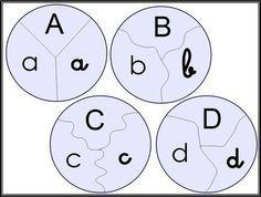 Alphabet in den 3 Skripten Alphabet Script, Script Cursif, Tag Alphabet, Alphabet Games, Montessori Activities, Activities For Kids, Early Childhood Activities, Roots And Wings, Letter Worksheets