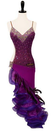 Vine & Divine | Rhythm & Latin Dresses | Encore Ballroom Couture