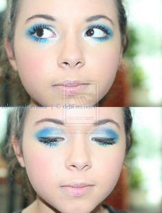 alice in wonderland makeup I by xALWAYSxINxVAINx on deviantART