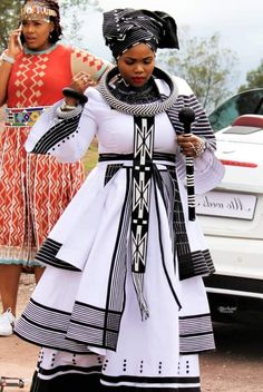 Ndixakiwe Modern Xhosa Traditional Dresses Latest Designs - Sunika Traditional African Clothes What Shweshwe Dresses, African Maxi Dresses, Latest African Fashion Dresses, African Dresses For Women, African Print Fashion, African Clothes, African Dress Designs, Modern African Dresses, South African Fashion