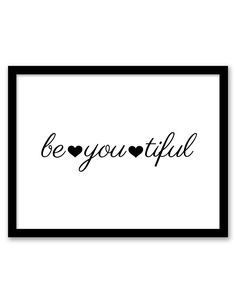 Download and print this free printable Be You Tiful wall art for your home or office! Directions: Unlock the files. Once you unlock the files (by sharing, liking, following), the download buttons will appear. Click the download button below to download the PDF file. Press print. Paper recommendation: Card stock paper is recommended for this...