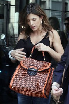Elisabetta Canalis - Elisabetta Canalis Meeting Alessia Marcuzzi For Lunch In Milan