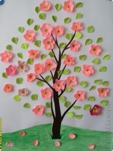 Crafts for kids, Preschool crafts, School decorations, Spring crafts, Arts Paper Flowers Craft, Flower Crafts, Paper Crafts, Paper Paper, Wood Crafts, Class Decoration, School Decorations, Spring Crafts For Kids, Art For Kids