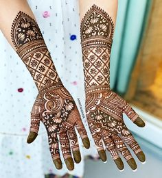 Top 20 Bridal Mehndi Design Images And Photos Arabic Bridal Mehndi Designs, Engagement Mehndi Designs, Indian Henna Designs, Hena Designs, Full Hand Mehndi Designs, Henna Art Designs, Mehndi Designs For Beginners, Latest Mehndi Designs, Simple Mehndi Designs