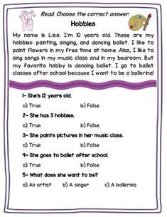15 Reading Comprehension Passages by Joel Rivera 1st Grade Reading Worksheets, First Grade Reading Comprehension, Phonics Reading, Reading Comprehension Worksheets, Comprehension Questions, Reading Passages, Teaching Reading, Learning, English Phonics