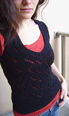 Vest Knitting Pattern...for when I learn to knit @Kat Pond ....... Get practising !!!! I want one! Lol