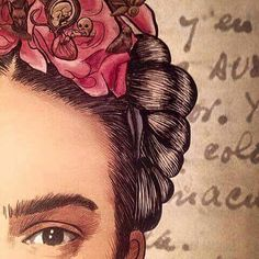 Image about love in Frida Kahlo by susie ♡ on We Heart It Diego Rivera, Kahlo Paintings, Frida And Diego, Frida Art, Mexican Art, Famous Artists, Zentangle, Painting & Drawing, Collages