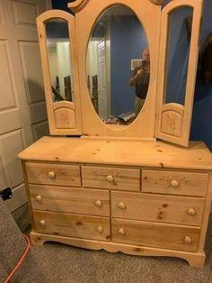 Childrens Bedroom Furniture, Bedroom Furniture Sets, Pine Dresser, Vanity, Farmhouse, Girls, Ebay, Home Decor, Dressing Tables