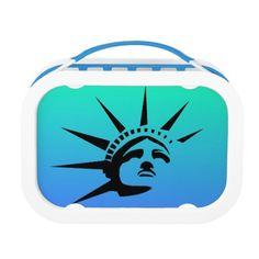Lady Liberty Yubo Lunch Box #StatueOfLiberty #Statue #Liberty #USA #America #Yubo #Kids #LunchBox