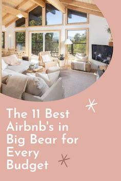 Big Bear is a spectacular place to stay in the winter and the summer. We've compiled a list of 11 of the Best Airbnbs in Big Bear for Every Budget. Dog Friendly Cabins, Hiking Spots, Luxury Cabin, Travel Expert, A Frame Cabin, Cozy Cabin, Big Bear, Great Restaurants, Future Travel