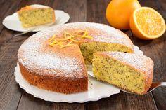 Ciasto pomarańczowe bez laktozy.
