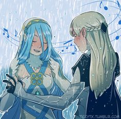 Corrin and Azura Dancing in the Rain pt.7