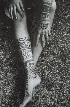 tattoo, black and white