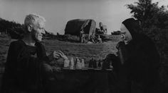 The Seventh Seal by Ingmar Bergman. Playing chess against the death.