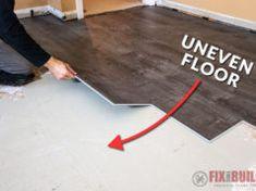 Avoid these 10 Beginner Mistakes when Installing Vinly Plank Flooring. Floating Vinyl Flooring, Installing Vinyl Plank Flooring, Vinyl Wood Flooring, Floating Floor, Diy Flooring, Flooring Options, Kitchen Flooring, Bathroom Flooring, Flooring Ideas