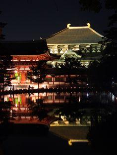 奈良公園 なら燈花会(とうかえ) 東大寺大仏殿