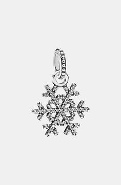 PANDORA 'Winter Kiss' Dangle Charm available at #Nordstrom