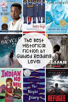 Are you an upper elementary teacher planning historical fiction book clubs? Do you need book club book suggestions to accompany your reading workshop historical fiction unit? If so, this blog post is for you. The books are all organized by guided reading level so that you can easily find books that will work for your students. Perfect for grade 4 and grade 5 reading classes. These are the best historical fiction books for kids. Your 4th and 5th grade students will love these novels! Reading Classes, 5th Grade Reading, Reading Workshop, Book Clubs, Book Club Books, Elementary Teacher, Upper Elementary, Historical Fiction Books For Kids, Wordless Picture Books