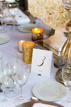 Spring Wedding in Chicago, Table Numbers by Sarah Drake Photo By Emilia Jane