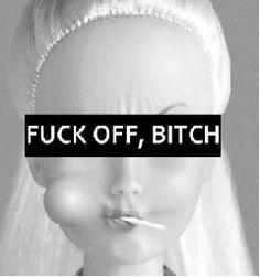 Fuck off bitch Barbie Mood Wallpaper, Aesthetic Iphone Wallpaper, Cartoon Wallpaper, Disney Wallpaper, Aesthetic Wallpapers, Bitch Quotes, Mood Quotes, Qoutes, Barbie Mala