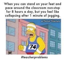 For real. #outofshape Bored Teachers, Education Quotes For Teachers, Quotes For Students, Funny Teachers, Funny Relatable Memes, Funny Jokes, True Memes, Memes Humor, Stupid Memes