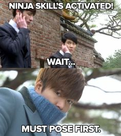Lee Min Ho | The Heirs ♡ #KDrama #FUNNY