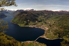 A picture of beautiful Sogndal ...