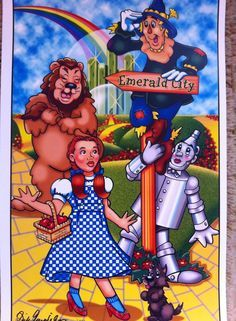 wizard of oz caricatures - Google Search