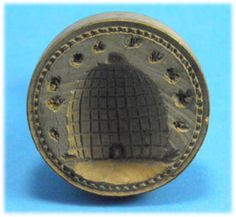 beehive butterstamp..~♥~  I would love to have this with an English Muffin and honey butter!