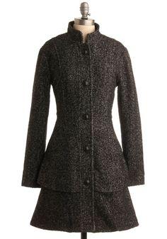 Chimney Sweet Coat | Mod Retro Vintage Coats | ModCloth.com - StyleSays