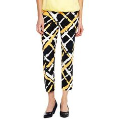 Liz Claiborne Ankle Pants - jcpenney.  Personally I like what the recently fired CEO was doing.  First time I have shopped at JCP in years and I found lot's of great clothes!
