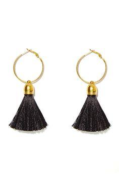 Suzywan Deluxe Andrea Hoop Earrings