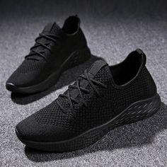 Bjakin cómodo de los hombres zapatos de nuevo encaje zapatillas de deporte  transpirables masculinos calzado zapatos aac745e1c015d