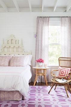 Step inside this historic cottage, revived with bright colors and a youthful sense of play. #newengland #home #design